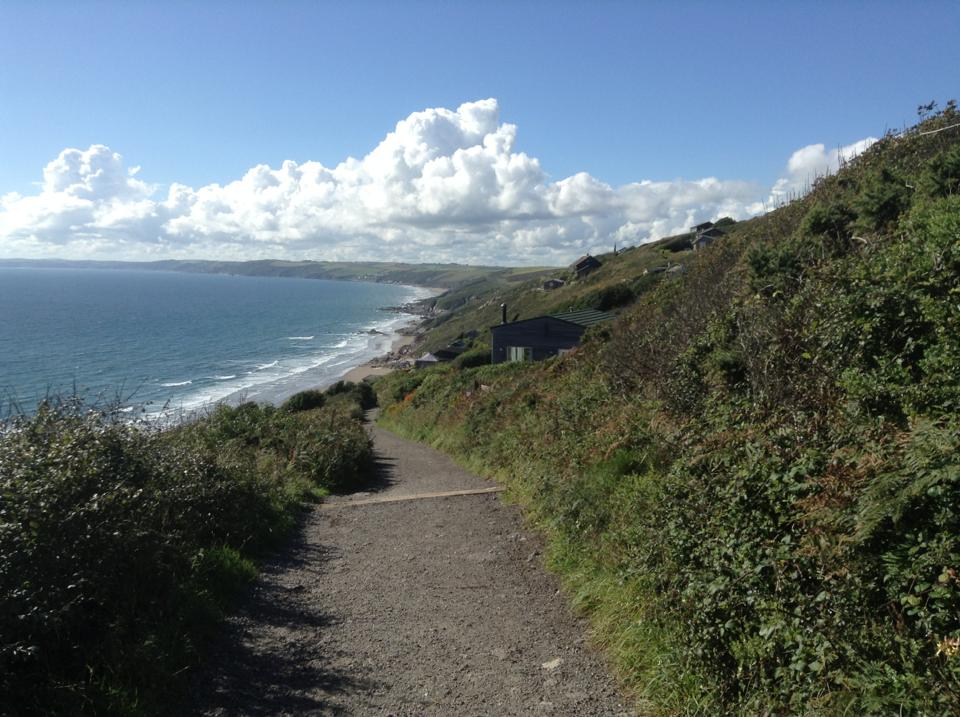 Path to Windwhistle chalet, has recently been changed to Tarmac