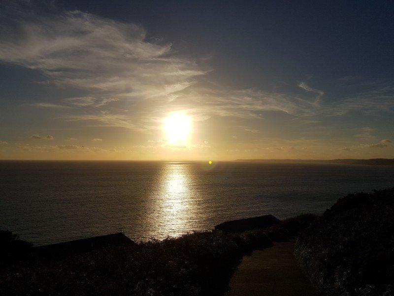 Whitsands sunset